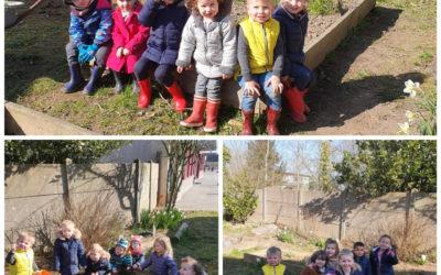 Semaine du jardinage à l'école